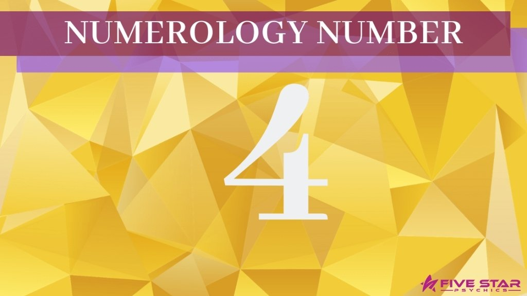 The Meaning of Number 4 in Numerology
